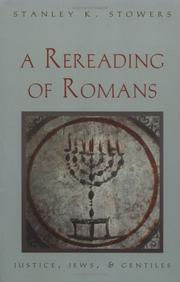 Cover of: rereading of Romans | Stanley Kent Stowers