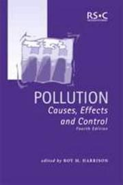 Cover of: Pollution |