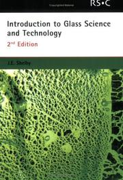 Cover of: Introduction to Glass Science and Technology