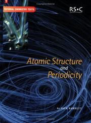 Cover of: Atomic structure and periodicity | Jack Barrett