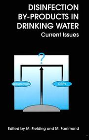 Cover of: Disinfection by-products in drinking water |