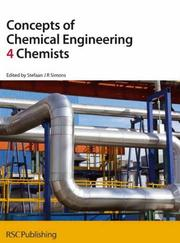 Cover of: Concepts of Chemical Engineering 4 Chemists ('4' Chemists)