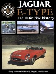 The Jaguar E-type by Philip Porter