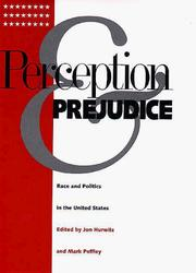 Cover of: Perception and Prejudice | Jon Hurwitz