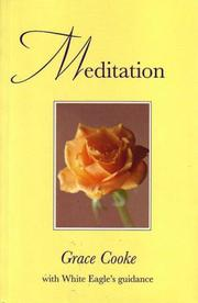 Cover of: Meditation | Grace Cooke