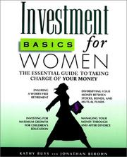 Cover of: Investment basics for women
