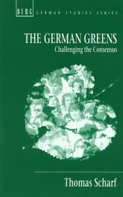 Cover of: The German Greens