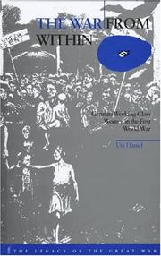 Cover of: The war from within