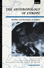 Cover of: The Anthropology of Europe |