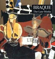Cover of: Braque