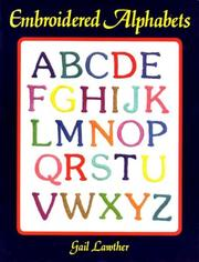 Cover of: Embroidered Alphabets