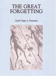 Cover of: The great forgetting