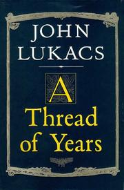Cover of: A thread of years
