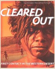 Cover of: Cleared Out | Sue Davenport