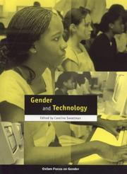 Cover of: Gender and Technology (Oxfam Focus on Gender Series)