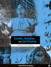 Cover of: Gender, Religion and Spirituality (Oxfam Focus on Gender Series)