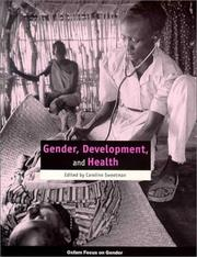 Cover of: Gender, development and health |