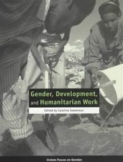 Cover of: Gender, Development, and Humanitarian Work (Oxfam Focus on Gender Series)
