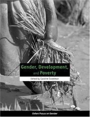 Cover of: Gender, development, and poverty