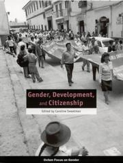 Cover of: Gender, development, and citizenship