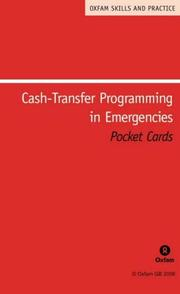 Cover of: Cash-Transfer Programming in Emergencies (Oxfam Skills and Practice Series) |