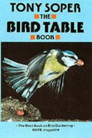 Cover of: The bird table book