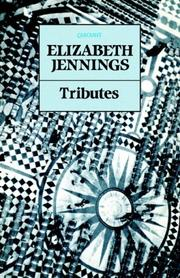 Cover of: Tributes