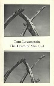 Cover of: The death of Mrs. Owl