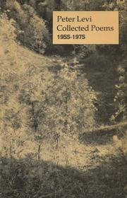 Cover of: Collected poems, 1955-1975