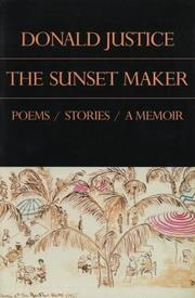Cover of: The sunset maker