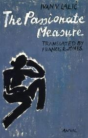 Cover of: The passionate measure