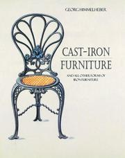 Cover of: Cast-Iron Furniture by George Himmelheber