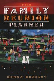 Cover of: The family reunion planner