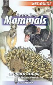 Cover of: Australian Mammals (Key Guides)