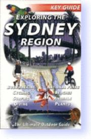 Cover of: Exploring the Sydney Region