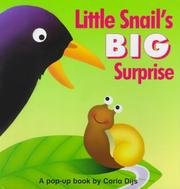Cover of: Snail's BIG Surprise Pop-up Book