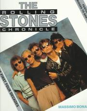 Cover of: The Rolling Stones Chronicle | Bonanno