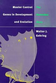 Cover of: Master control genes in development and evolution
