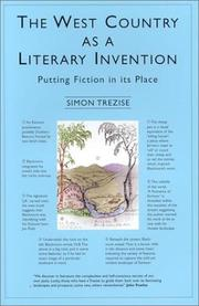 Cover of: The West Country as a literary invention | Simon Trezise