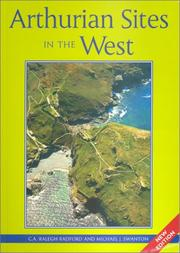 Cover of: Arthurian sites in the West | Courtenay Arthur Ralegh Radford