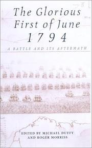 Cover of: Glorious First of June 1794 |