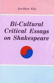 Cover of: Bi-cultural critical essays on Shakespeare
