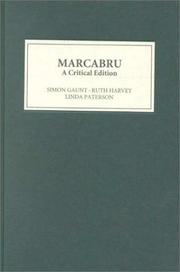 Cover of: Marcabru
