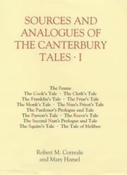 Cover of: Sources and analogues of the Canterbury tales |