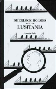 Cover of: Sherlock Holmes and the Lusitania