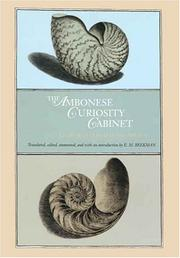 Cover of: The Ambonese curiosity cabinet