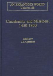 Cover of: Christianity and missions, 1450-1800 |