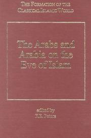 Cover of: The Arabs and Arabia on the eve of Islam
