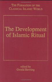 Cover of: The development of Islamic ritual