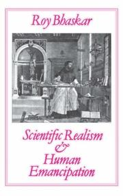Cover of: Scientific Realism and Human Emancipation